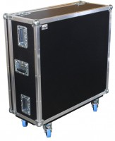 Yamaha QL5 mit Kabelkasten