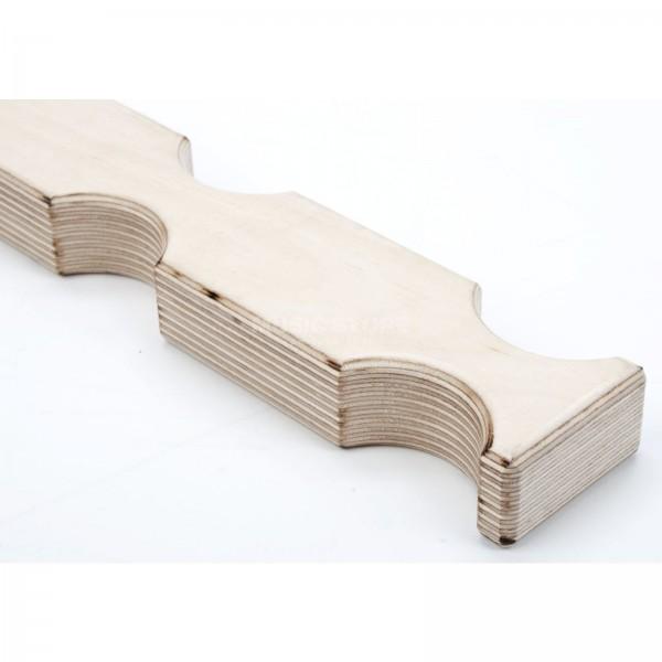 Truss-Zwischenhölzer /Stapelholz - unlackiert/Holz natur