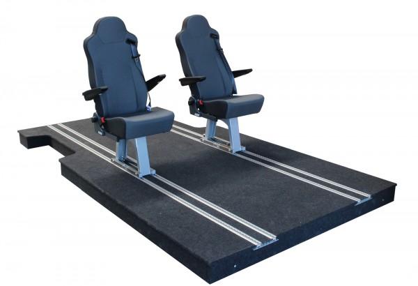 Einzelsitze mit Armlehne