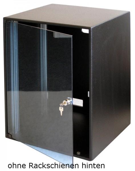 Studiorack Standard 550tief mit Glastür und Serviceklappe