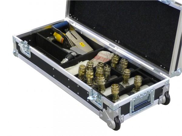 Servicekoffer für den Einsatz beim Kunden