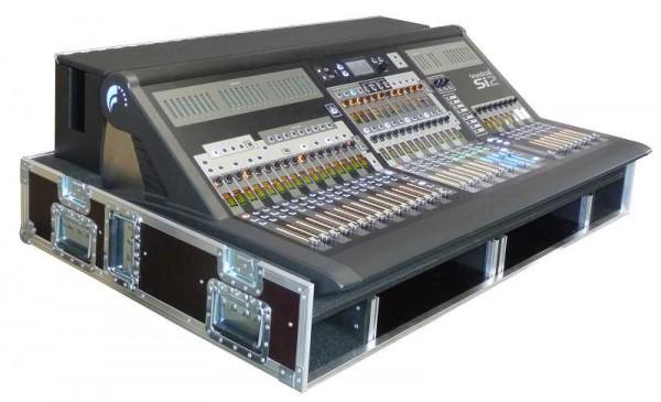 Soundcraft SI 2 mit Kabelkasten